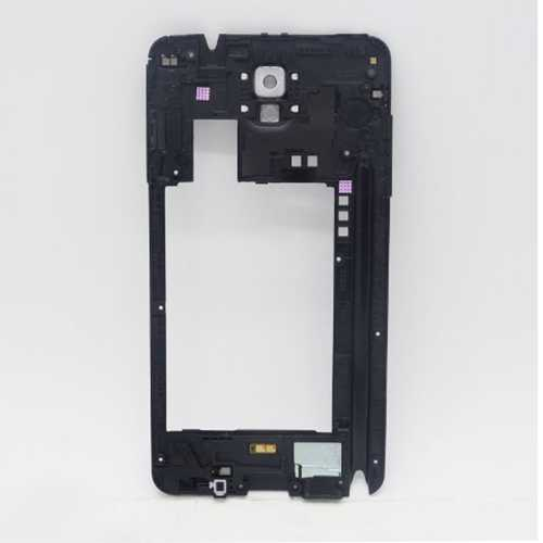 Middle frame for Samsung Galaxy Note 3 N9005 with white camera lens – Bild 3