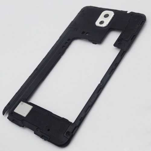 Middle frame for Samsung Galaxy Note 3 N9005 with white camera lens – Bild 2