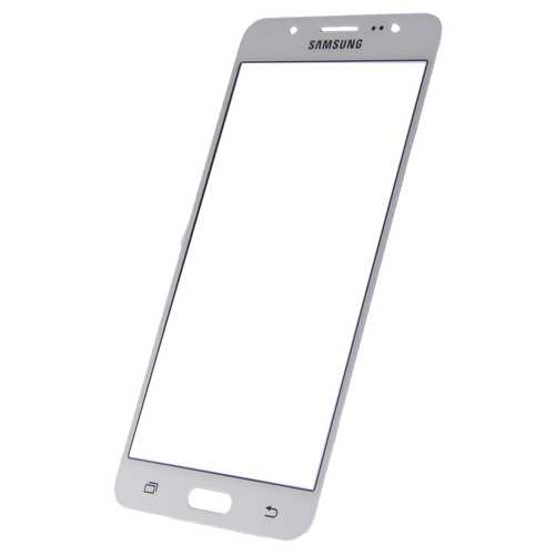 Samsung Galaxy J5 J510F white Front Glass (LCD Display and Touch Screen not included)