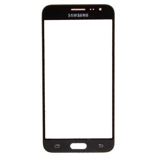 Samsung Galaxy J3 J320F black sapphire Front Glass (LCD Display and Touch Screen not included)