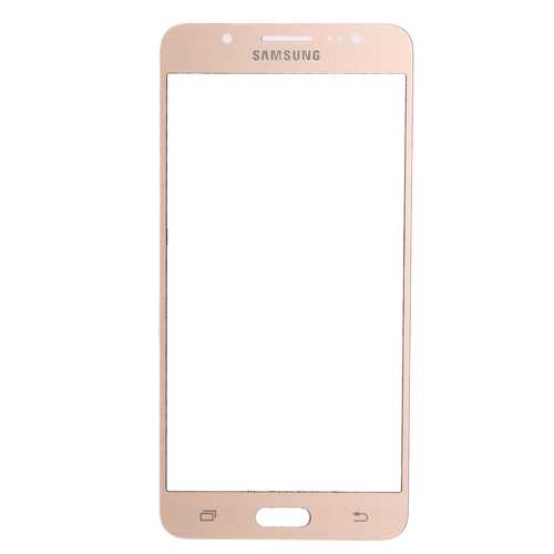 Samsung Galaxy J5 J510F gold Front Glass (LCD Display and Touch Screen not included)