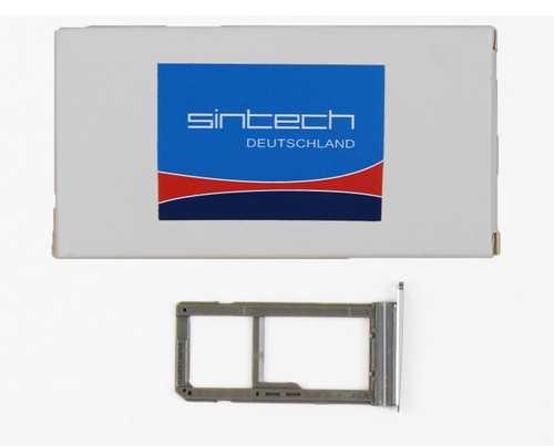 Sim + SD Kartenhalter für Samsung Galaxy S7 schwarz card holder