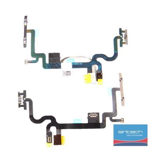 Lautstärke + Power Flexkabel für iPhone 7 ein aus on off laut leise Schalter  – Bild 1