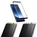 Panzer Schutzfolie 4D für Samsung Galaxy S8 / Display-Schutzglas 9H SINTECH© Premium  001