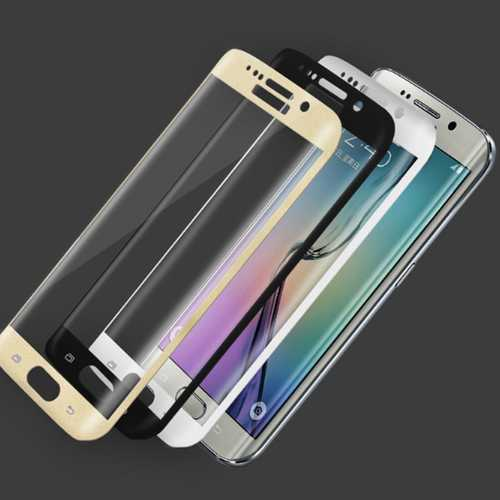 Tempered glas 3D / Burst screen safety glas 9H full cover for Samsung Galaxy S7 Edge – Bild 1