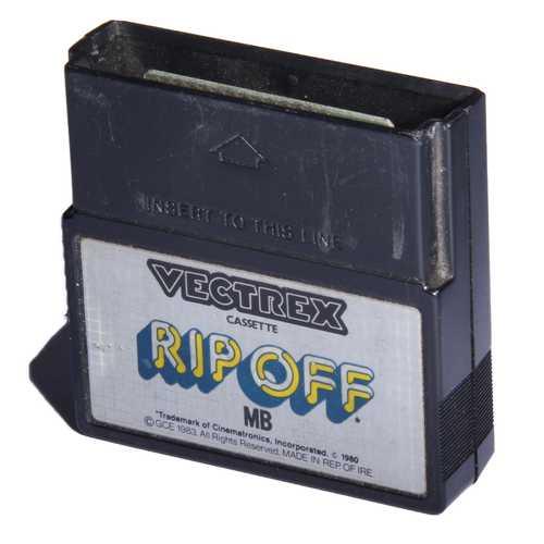 Vectrex, Rip off