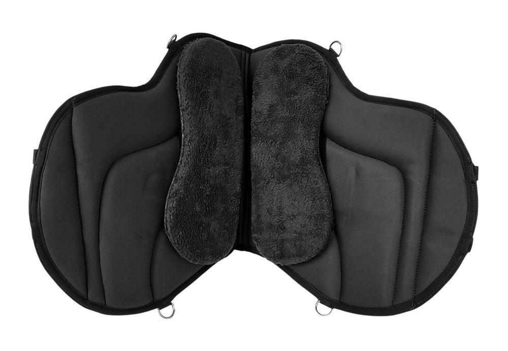 Reitpad Bareback Pad mit Klettkissen baumloser Sattel 1060 Neu