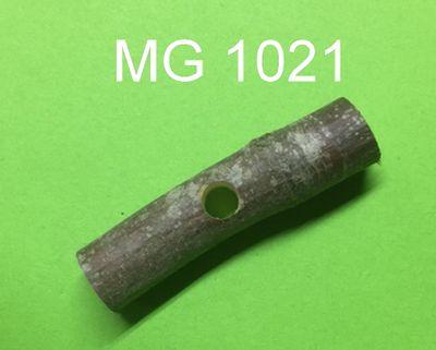 Aststück quer mini  ca. 5 cm lang ca.  1,5 cm dick mit 6 mm Loch