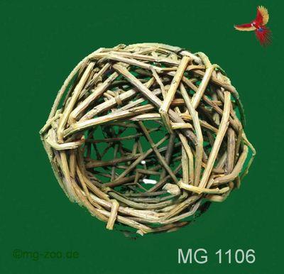 Weidenball 8 cm mit 5 cm Loch zum befüllen 001