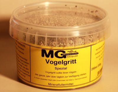 MG Vogelgritt Spezial fein 250 ml e 350g
