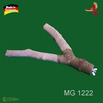 Unser Krallenpflegeast für Papageien Länge ca. 25 cm  Breite : 2,5 cm