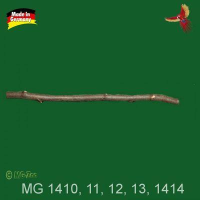 Naturholzsitzstange Nymphensittich 1 m 001