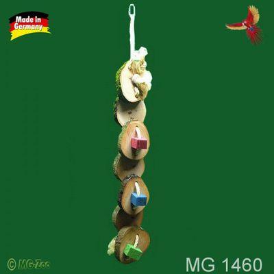 Holzscheiben Raupe zum schreddern ca. 70 cm lang ca. 10 cm breit