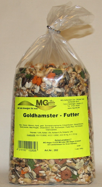 MG Goldhamsterfutter  550 g 002