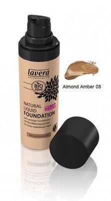 Natural Liquid Foundation Almond Amber 05 30 ml