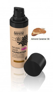Natural Liquid Foundation Almond Caramel 06 30 ml
