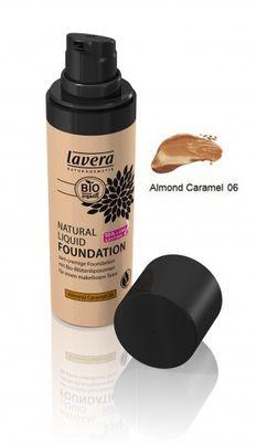Natural Liquid Foundation Almond Caramel 06 30 ml