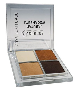 Natural Quattro Eyeshadow Coffee & Cream 8 g