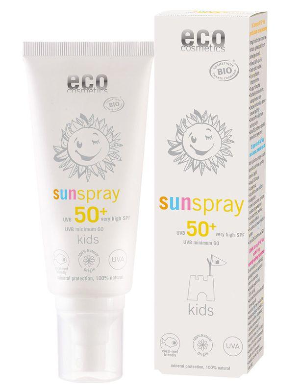 eco cosmetics Sonnenspray LSF50+ Kids 100ml