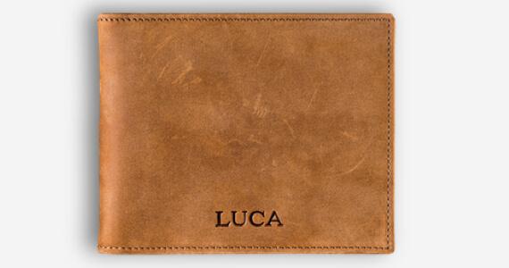 LUCA Slim Clip Wallet