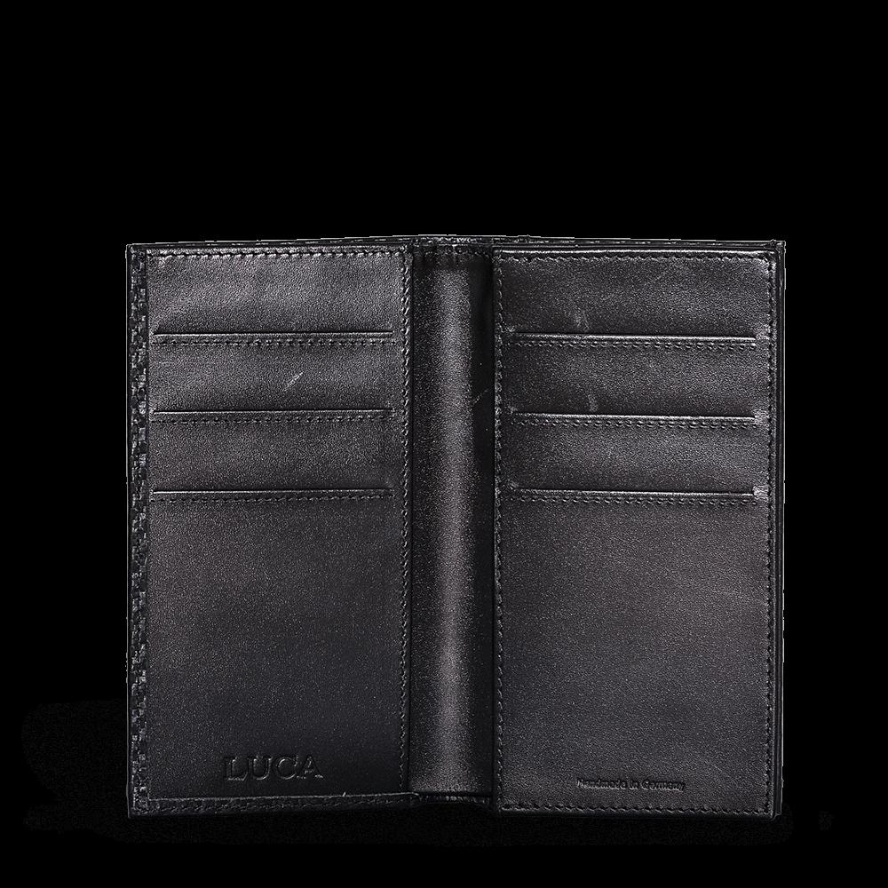 LUCA iPhone 6 Plus wallet - carbon black 4