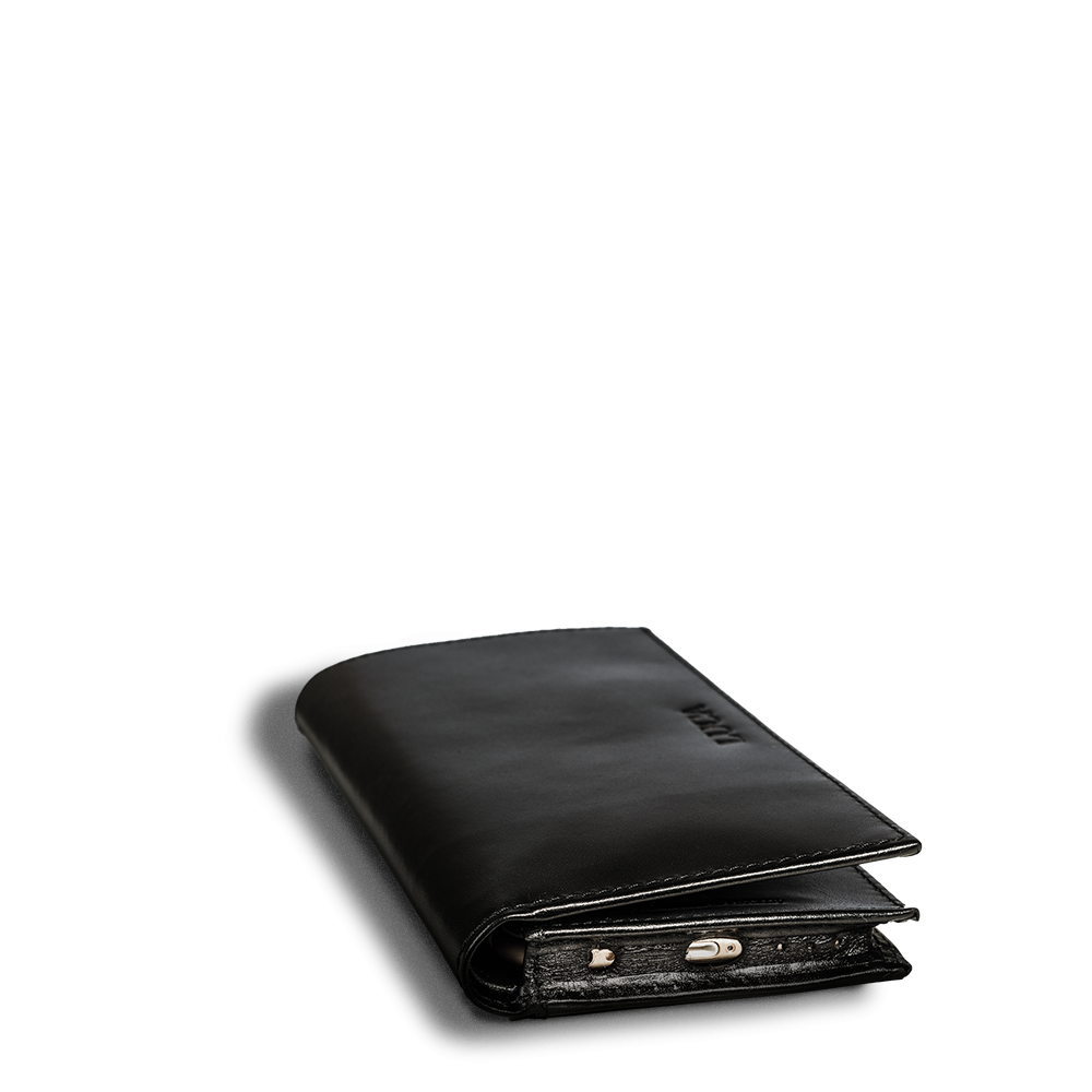 LUCA iPhone 6 wallet - calf leather black 5