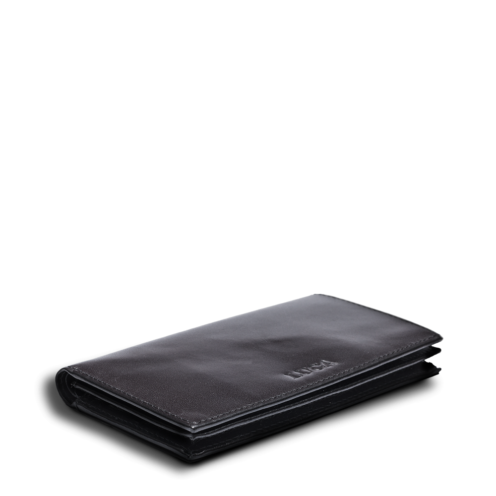 LUCA iPhone 6 wallet - calf leather black 4