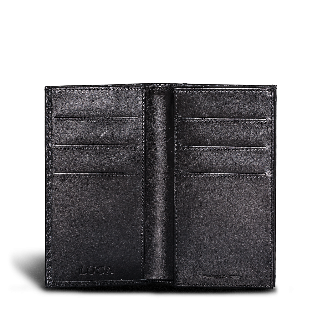LUCA iPhone 6 wallet - carbon-look 4