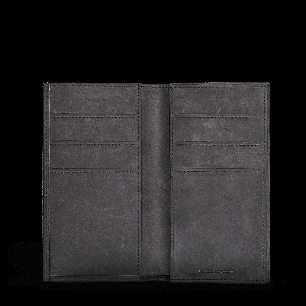 LUCA iPhone 6 wallet - nubuck black 4