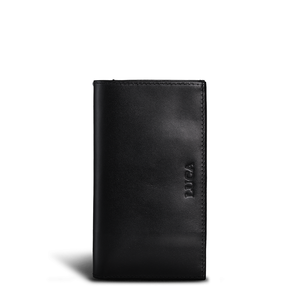 LUCA iPhone 6 wallet - calf leather black 2