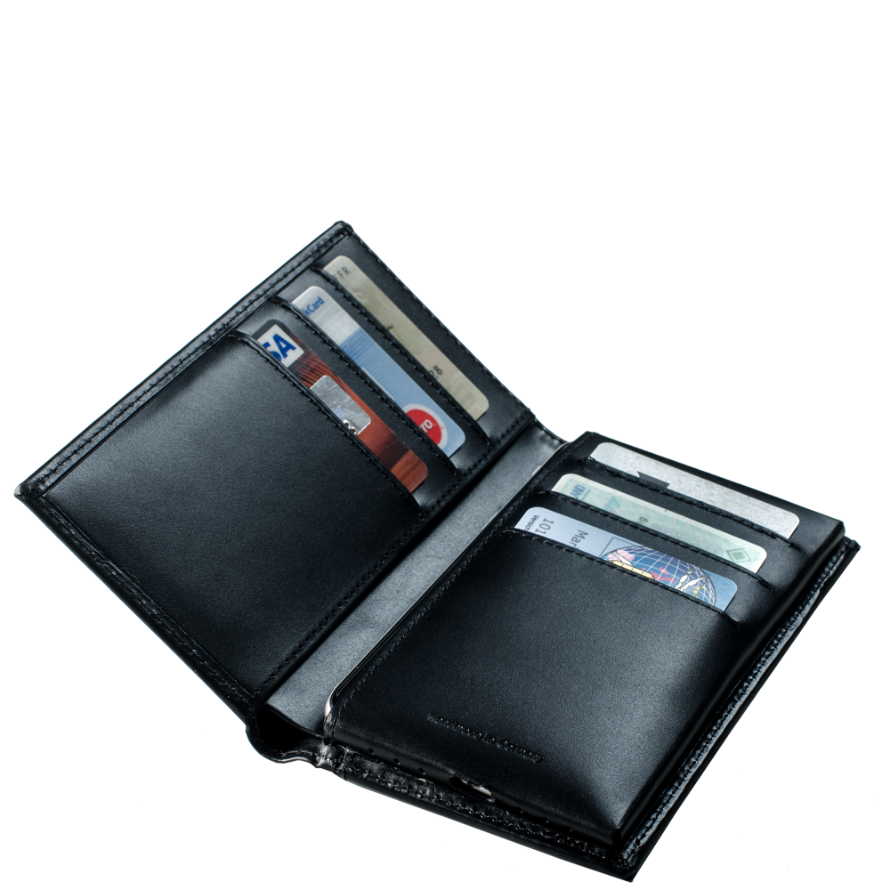 LUCA iPhone 6 wallet - carbon-look 5