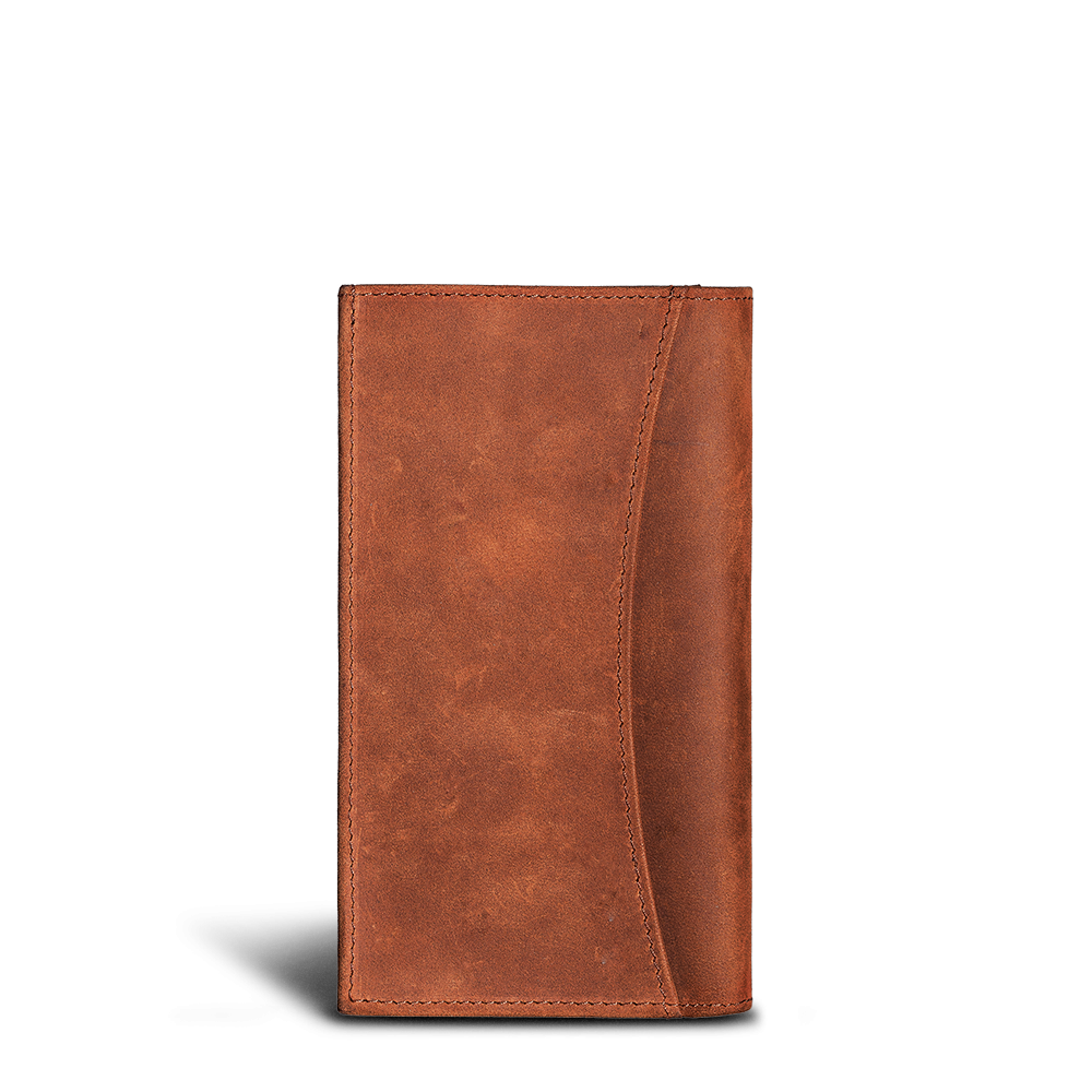 LUCA iPhone X / Xs Etui - Nubuk Antique Brown 3