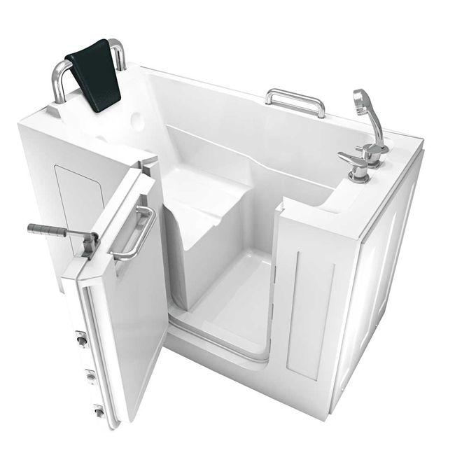 Senioren Sitzbadewanne Seniorenbadewanne Sitzwanne Badewanne mit Tür Pool A107 – Bild 6