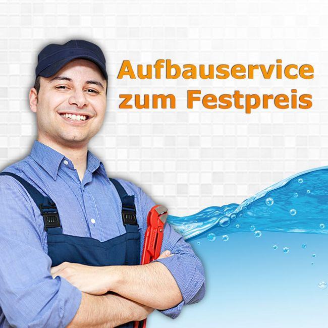 Aufbauservice für AcquaVapore Duschtempel zum für Festpreis 379,-€ bis 250km Anfahrt, zuzüglich Anfahrtspauschale 119,-€