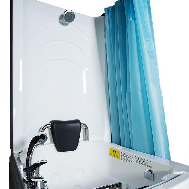Senioren Dusche Sitzbadewanne Sitzwanne Duschbadewanne mit Tür Pool A110D – Bild 6