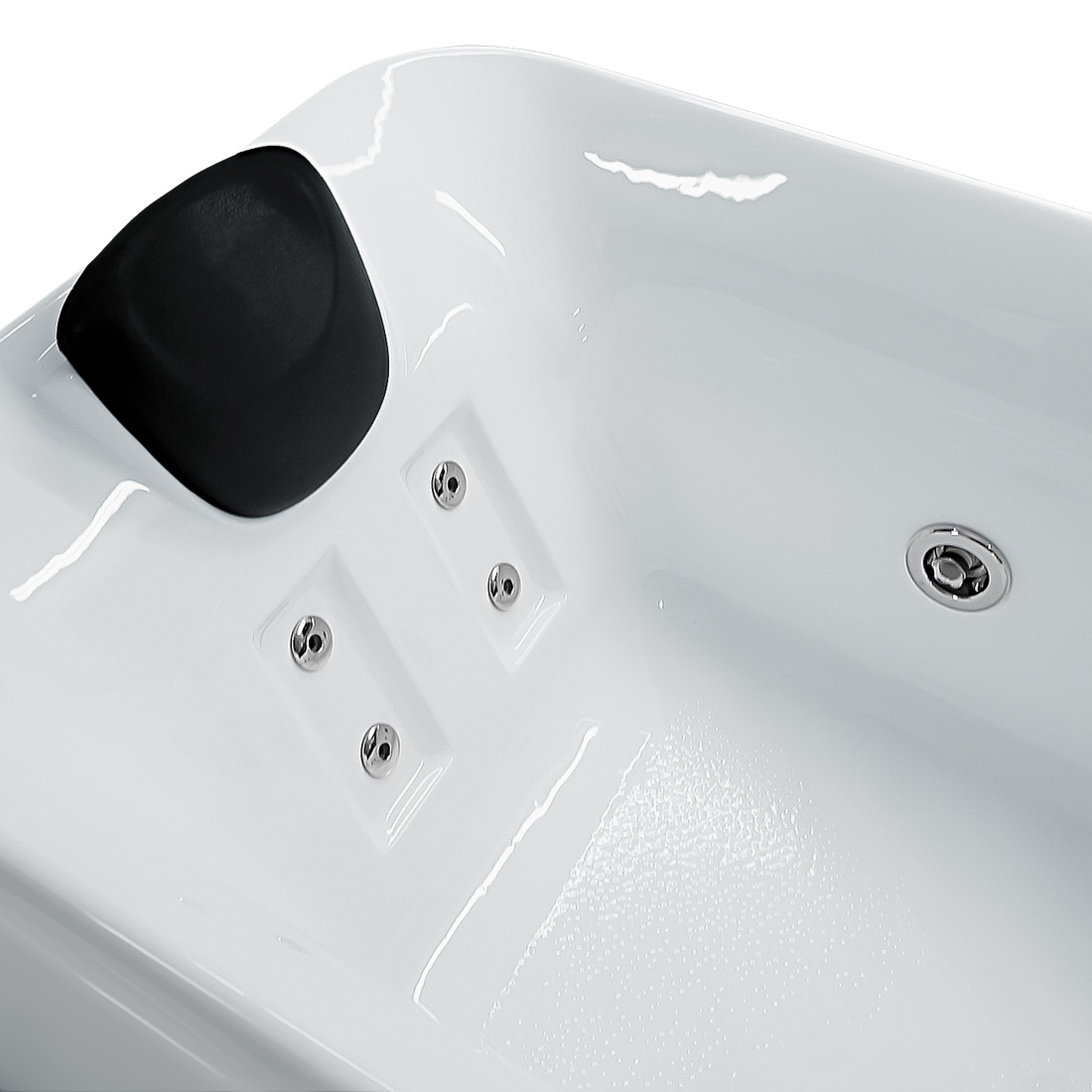 whirlpool vollausstattung pool badewanne wanne a1149n pl 170x80cm. Black Bedroom Furniture Sets. Home Design Ideas