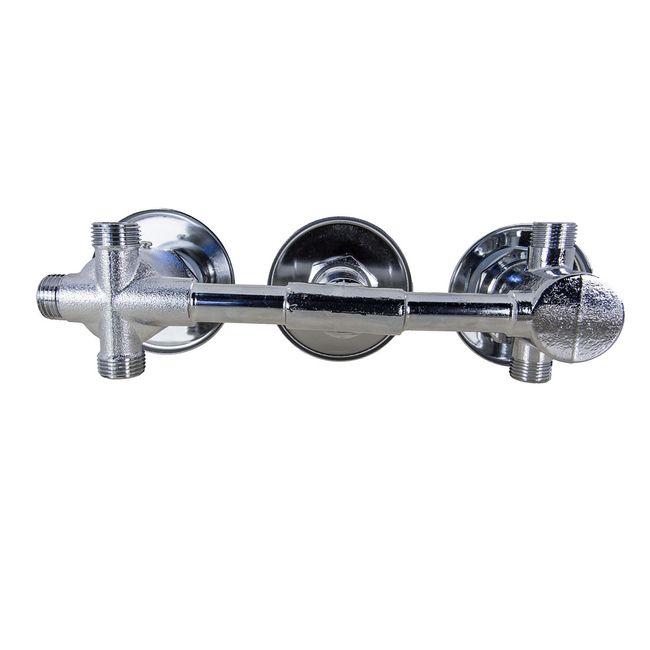 Thermostat-Armatur 3 Regler mit 3 fach Umschalter DTP6037 / 38, Quick16 / 18 / 26 – Bild 4