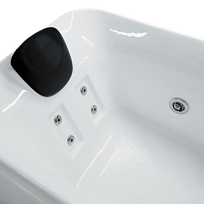 Whirlpool Vollausstattung Pool Badewanne Wanne A1149-ALL 170x80cm – Bild 7
