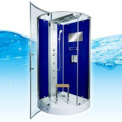 AcquaVapore DTP6037-0200 Dusche Duschtempel Komplett Duschkabine 80x80 Bild 2