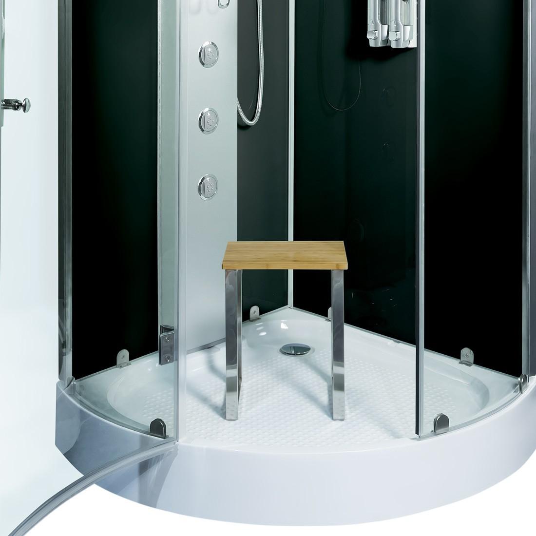 acquavapore dtp6037 0301 dusche duschtempel komplett duschkabine th 80x80. Black Bedroom Furniture Sets. Home Design Ideas