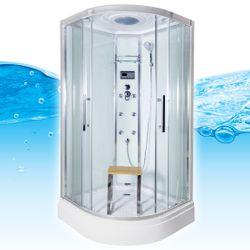 AcquaVapore QUICK26-0001 Dusche Duschtempel Komplette Duschkabine -Th 80x80 Bild 2