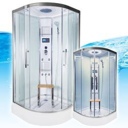 AcquaVapore QUICK26-0004 Dusche Duschtempel Komplette Duschkabine 80x80 001