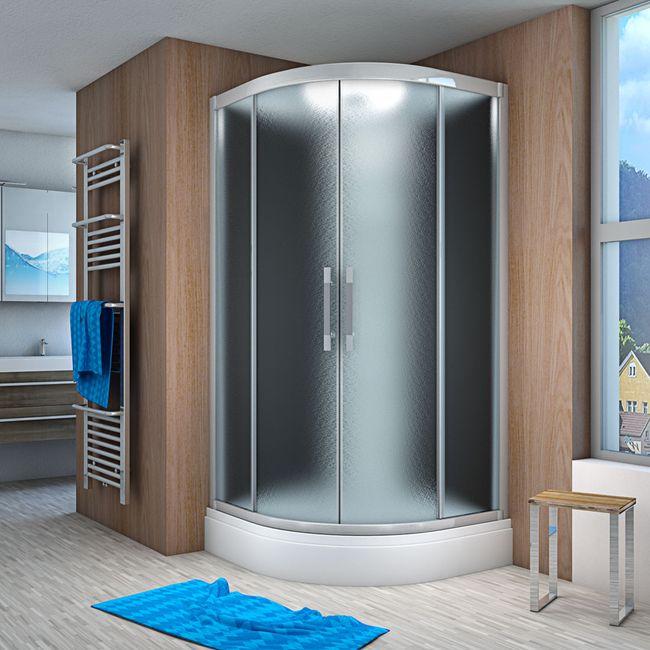AcquaVapore QUICK26-2310 Dusche Duschtempel Komplette Duschkabine 100x100