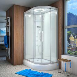 AcquaVapore QUICK26-7000R Dusche Duschtempel Komplette Duschkabine 80x120 001