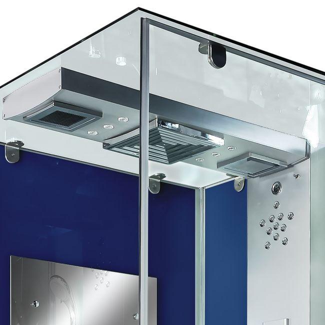 AcquaVapore DTP6038-1202R Dusche Dampfdusche Duschtempel Duschkabine 90x90 – Bild 9
