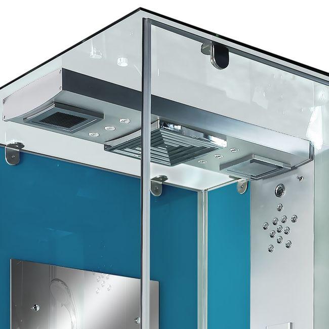 AcquaVapore DTP6038-3100R Dusche Duschtempel Komplett Duschkabine 90x90 – Bild 9
