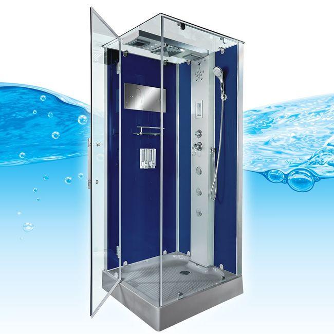 AcquaVapore DTP6038-3200L Dusche Duschtempel Komplett Duschkabine 90x90 – Bild 6