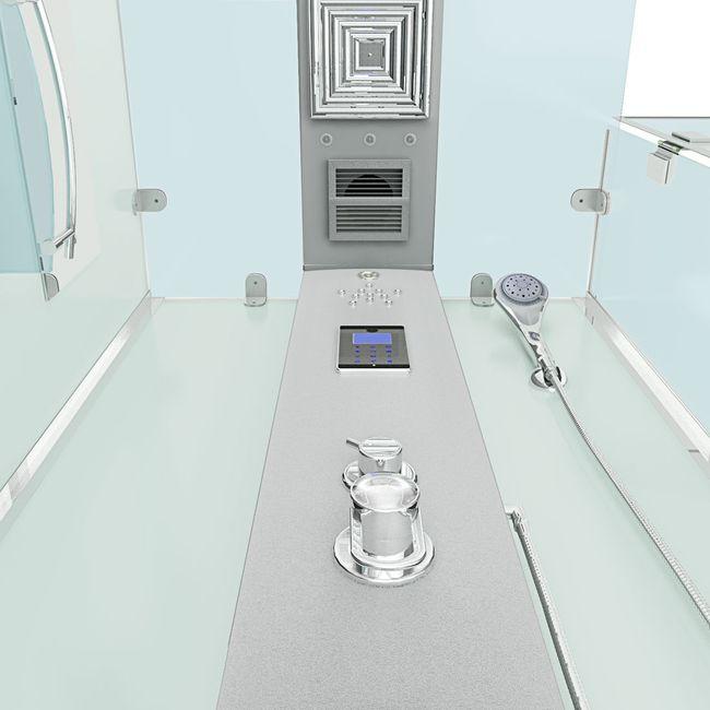 AcquaVapore DTP6038-8000R Dusche Duschtempel Komplett Duschkabine 80x80 – Bild 6