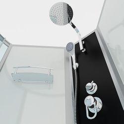 AcquaVapore DTP8050-A000R Wanne Duschtempel Badewanne Dusche Duschkabine 98x170 Bild 6