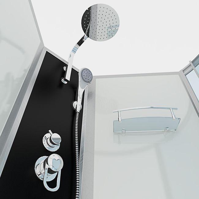 AcquaVapore DTP8050-A000L Wanne Duschtempel Badewanne Dusche Duschkabine 170x98 – Bild 6